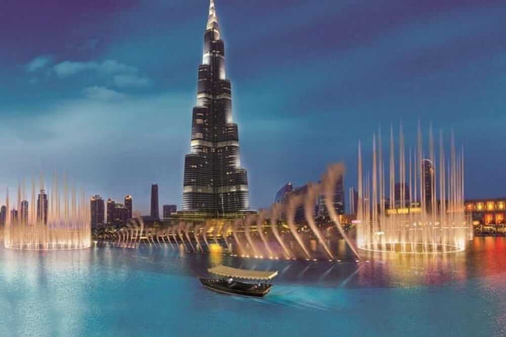 Dubai Fountain Lake Ride