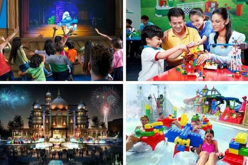 Dubai Parks - 4 Parks with Q-Fast