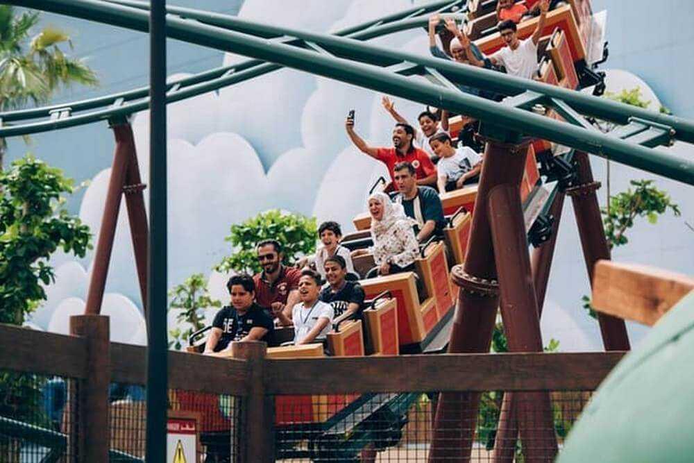 Dubai Parks - 2 Days 4 Parks