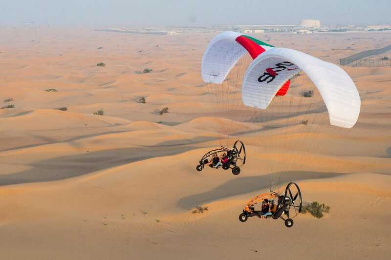 Paramotors Flight