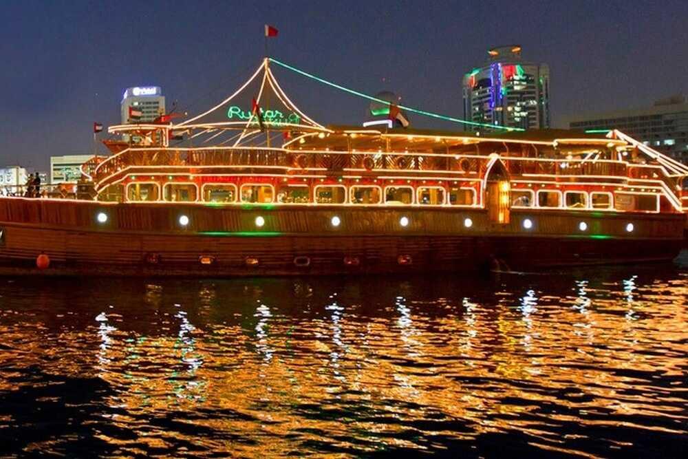 Rustar Dinner Cruise - Dubai Creek